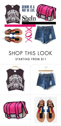 """""""shein style"""" by sheinside ❤ liked on Polyvore featuring GALA"""