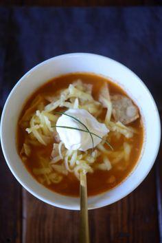 Tortilla Soup (Sopa Azteca).