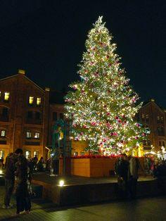 Christmas tree, Yokohama, Japan