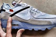 This Is The OFF-WHITE x Nike Air Max 90 Ice
