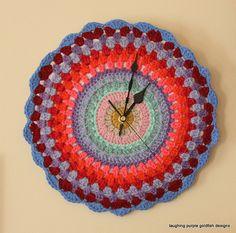 Granny Clock by laughingpurplegoldfish, via Flickr