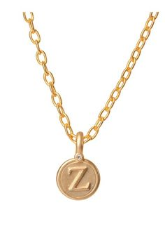 Zeta Gold Pendant - BambooPink