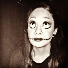 Maquillaje muñeca #halloween