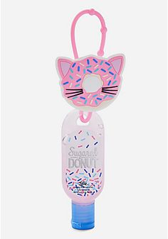 donut cat anti-bac - sugared donut scented
