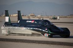 Land Speed Record    In August 2009, the British Steam Car, driven by Charles Burnett III, smashed a record that had stood for a century: the