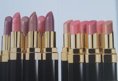 New Chanel pinks and nudes.