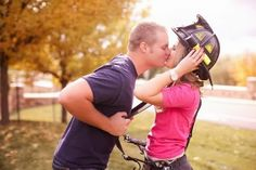 Adorable Firefighter Engagement Session - Aisle Perfect ®
