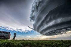 Long-lived tornado warned LP supercell in NE Colorado on May 28th 2013.....and yes it is real! What a show we got from this meteorological phenomena!