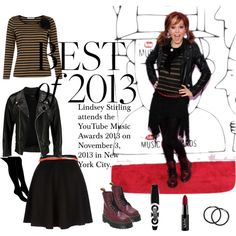 """""""Lindsey Stirling - 2013 red carpet"""" by makeupflowergarden on Polyvore"""