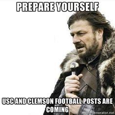 USC/Clemson Football