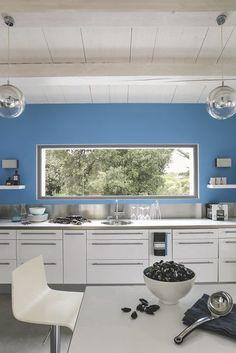 Une cuisine avec vue panoramique