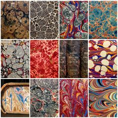 """Over the last couple years, the """"MarbledMonday"""" hashtag has taken off on the AAS Instagram feed, becoming one of our most popular regular features (competing with other favorites like """"Caturday"""" an…"""