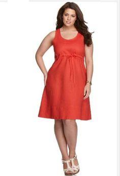 orange bridesmaid dress -  plus size