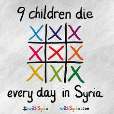 As we enter the fifth year of fighting in #Syria, 9 children are still killed every single day. #withSyria