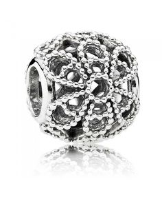 PANDORA Silver Openwork Roses Charm 791282 The most fashionable Pandora latest style in our store listing, welcome to buy.