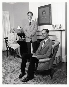 """Just make sure your children hate authority and they'll do fine."" — John Waters (w/his parents)"