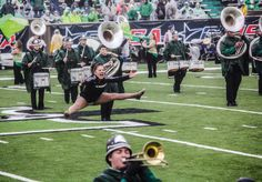 Kylie Marshall University Feature Twirler CUSA championship game
