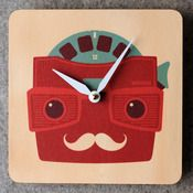 Image of ViewMaster Clock