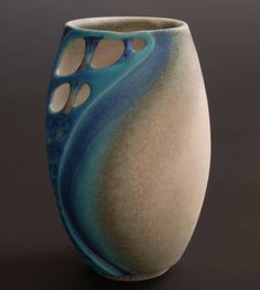 Ceramics by Clare Wakefield at Studiopottery.co.uk - 2011. New Porcelain 3.8cm x 12.5cm
