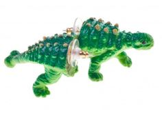 Cute little green #dinosaur #earrings  /shop/515-961-thickbox/jurassic-spark-collection-earrings.jpg #dino #jewelry