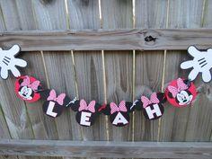 Minnie Mouse Banner, so cute