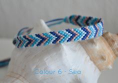 Woven bracelets, perfect for a colourful summer!  Also available as anklet.  Does your heart desire other colours? I can custom make