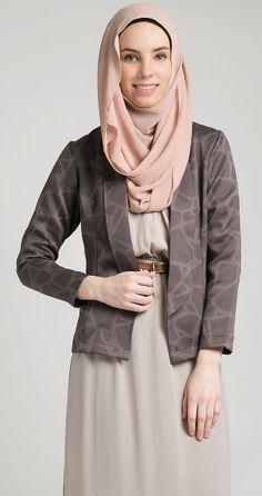 Blazer Wanita Muslimah Modern : blazer, wanita, muslimah, modern, Blazer, Wanita, Muslimah, Modern, Kekinian, Pakaian, Blazer,, Muslim,