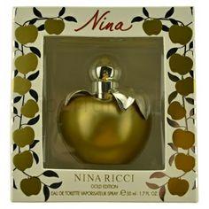 Nina Ricci Nina Gold Edition, woda toaletowa dla kobiet 50 ml | iperfumy.pl