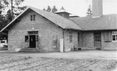 Crematorium at Dachau death camp