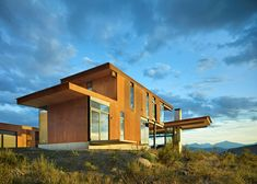 Tom Kundig's gorgeous Corten-clad Studhorse home is modeled after a wagon train