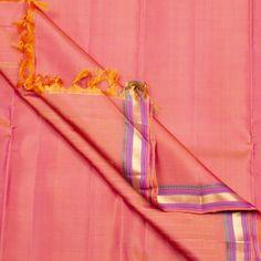 Kanakavalli Handwoven Kanjivaram Silk Sari 1000403 - Sari / Kanjivarams - Parisera