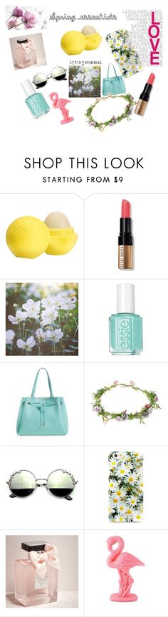 """""""Geen titel #19"""" by fasiongirl123 ❤ liked on Polyvore featuring beauty, Eos, Bobbi Brown Cosmetics, Essie, Kate Spade, Orelia, Abercrombie & Fitch and Sunnylife"""