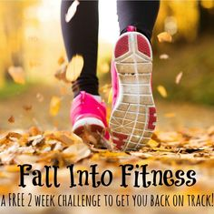 Fall Into Fitness with this FREE two-week challenge to get you back on track!