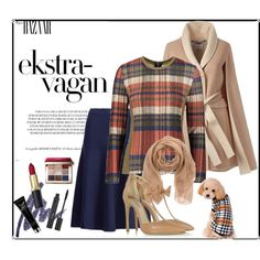 Plaid Style #2 by max-chance on Polyvore featuring мода, YAL New York, Polo Ralph Lauren, Olgana, Ermanno Scervino, Bobbi Brown Cosmetics and Christian Dior