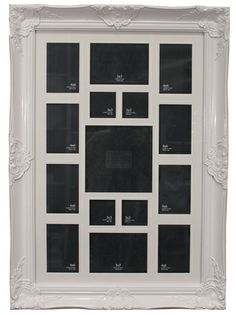 The Kingsbury Collage Frame - White from Urban Barn is a unique home décor item. Urban Barn carries a variety of Frames and other  Accents furnishings.
