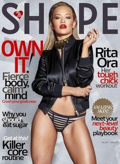 DIARY OF A CLOTHESHORSE: Rita Ora covers Shape magazine May 2017