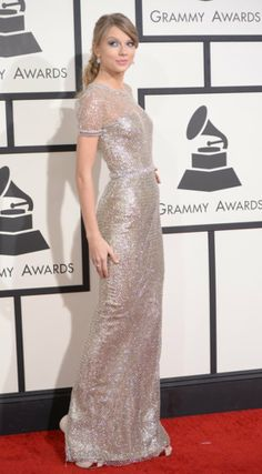 Taylor Swift's 2014 Grammys Dress