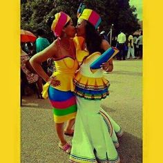 The variety of sepedi traditional attire. Look forward to recreating it someday… Pedi Traditional Attire, Sepedi Traditional Dresses, African Traditional Wedding, Traditional Fashion, Traditional Weddings, African Fashion Designers, African Men Fashion, African Fashion Dresses, African Outfits