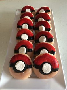 Pokemon party, using Krispy kremes