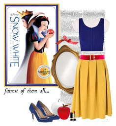 """""""Snow White"""" by polybaby ❤ liked on Polyvore featuring Howard Elliott, Glamorous, Miss Selfridge, CB2, Ohne Titel, Daum, Dolce&Gabbana, Chanel, women's clothing and women's fashion"""