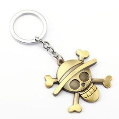 Cheap key ring, Buy Quality anime key holder directly from China key holder Suppliers: MS Jewelry ONE PIECE Key Chain Luffy Key Rings For Man Gift Chaveiro Car Keychain Anime Key Holder Souvenir One Piece Logo, One Piece Ace, One Piece Luffy, Mens Keychains, Key Chain Rings, Key Chains, Rope Chain, Gold Chains For Men, Jewelry Sets