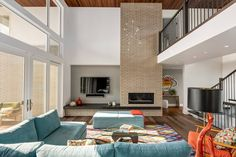House in Calgary by DOODL   HomeAdore   #InteriorDesign