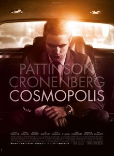 Cosmopolis starring Robert Pattinson, Paul Giamatti, Jay Baruchel, Kevin Durand, Juliette Binoche and Samantha Morton. Directed by David Cronenberg. Upcoming Movies, New Movies, Movies To Watch, Good Movies, Movies Online, Movies And Tv Shows, Amazing Movies, Latest Movies, Jay Baruchel
