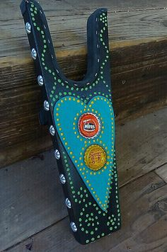 Brightly painted Boot Jacks by WesternSunset on Etsy, $30.00