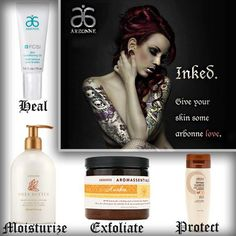 Inked? I have access to some amazing vegan aftercare and tattoo beauty maintenance! Arbonne is the answer and it loves your skin as much as you do!!