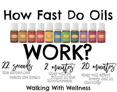 Did you know: - When Inhaling Young Living therapeutic-grade essential oils, the molecules reach your brain in 22 seconds.  -When applying them topically, within 2 minutes they will be found in your blood stream.  -At the close of 20 minutes, EVERY cell in your entire body will have been affected!  Isn't that amazing?!?!  One of our FAVORITE oils to use for instant results is Stress Away, we like to apply it topically to our wrists or the back of our necks. Another way we love to use it is…