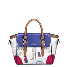 Fashion women retro tote bag