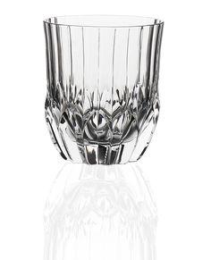 RCR Crystal Adagio Double Old Fashioned Tumbler Glasses - 350ml (11.75oz) - Set of 6: Amazon.co.uk: Kitchen & Home