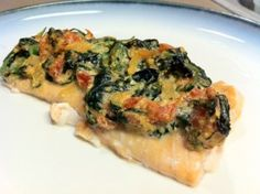 Salmon Florentine | Bulldogs and Brown Sugar
