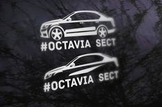 Skoda Octavia Vinil Sticker Car Vinil sticker Vinil sticker